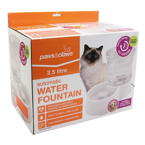 Paws & Claws Automatic Drinking Fountain 2.5L