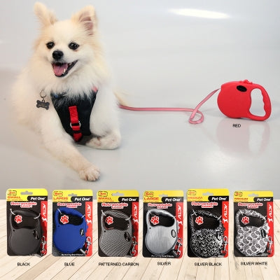 Pet One Retractable Leash Small 3m - 12kg And Under