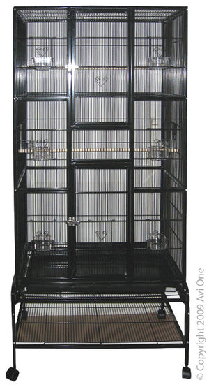 Avi One 604 Tall Bird Cage with Stand