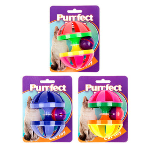 Pufffect Paws Carousel with Ball | Assorted Colours