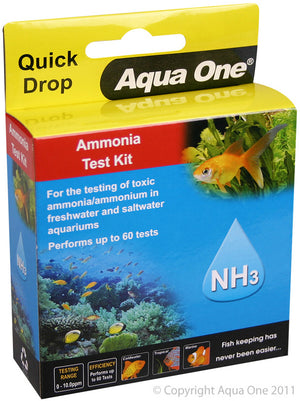 Aqua One QuickDrop Ammonia Test Kit
