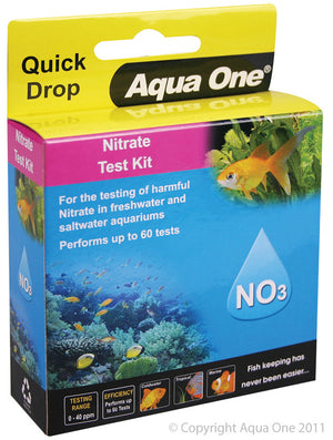 Aqua One QuickDrop Nitrate Test Kit