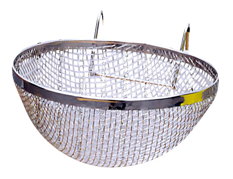 SHOWMASTER CANARY NEST WIRE CHROME PLATED LARGE