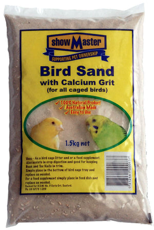 Bird Sand with Calcium Grit 1.5kg