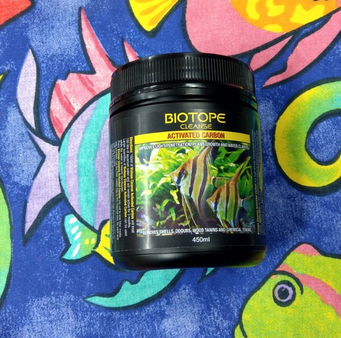 Biotope Cleanse Activated Carbon (Highly Recommended) | 450ml