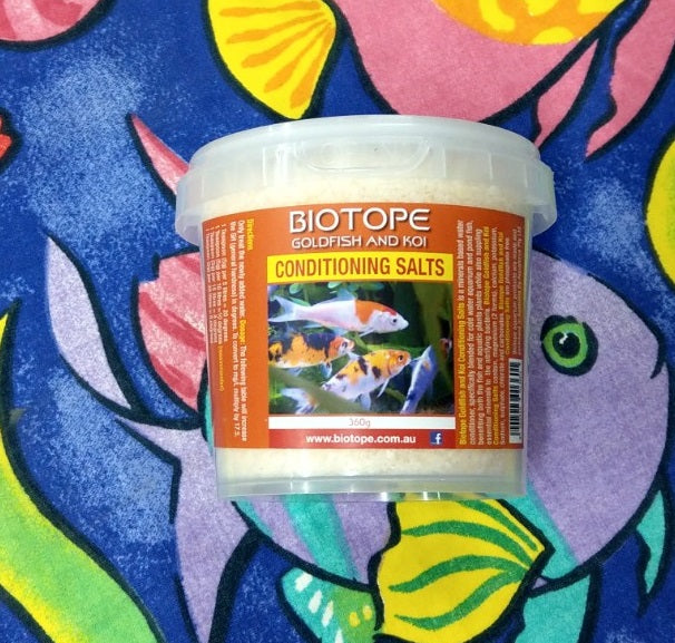 Biotope Goldfish Conditioning Salts