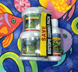 Biotope Tropical Conditioner Pack | BioSafe | Tropical Salts | Balance 7.0