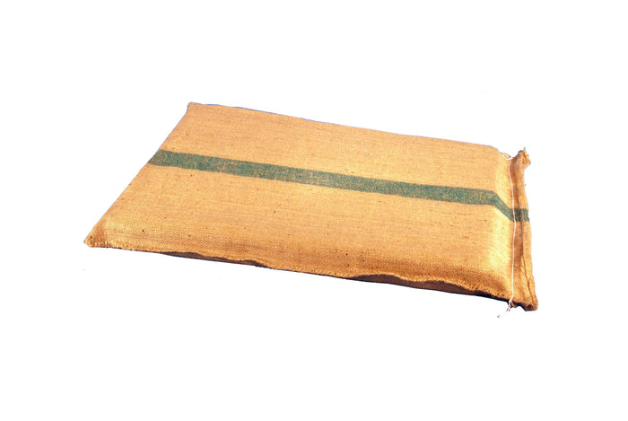 Showmaster Hessian Mats - Green Stripe