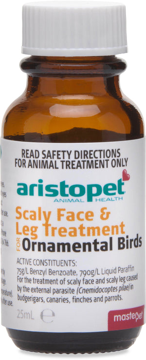Aristopet Scaly Face and Leg Cure 25ml