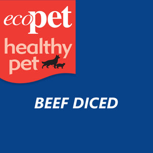 EcoPet Diced Beef