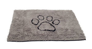 Dirty Dog Door Mat - Grey - Large 89x66cm