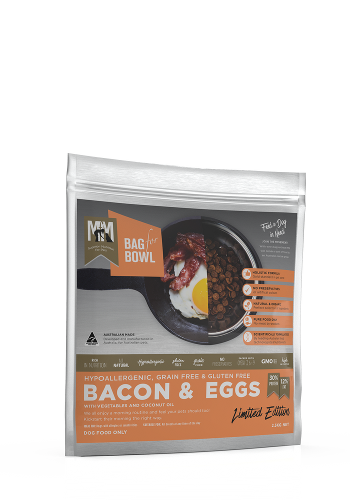 Meals For Mutts Grain Free Bacon & Eggs