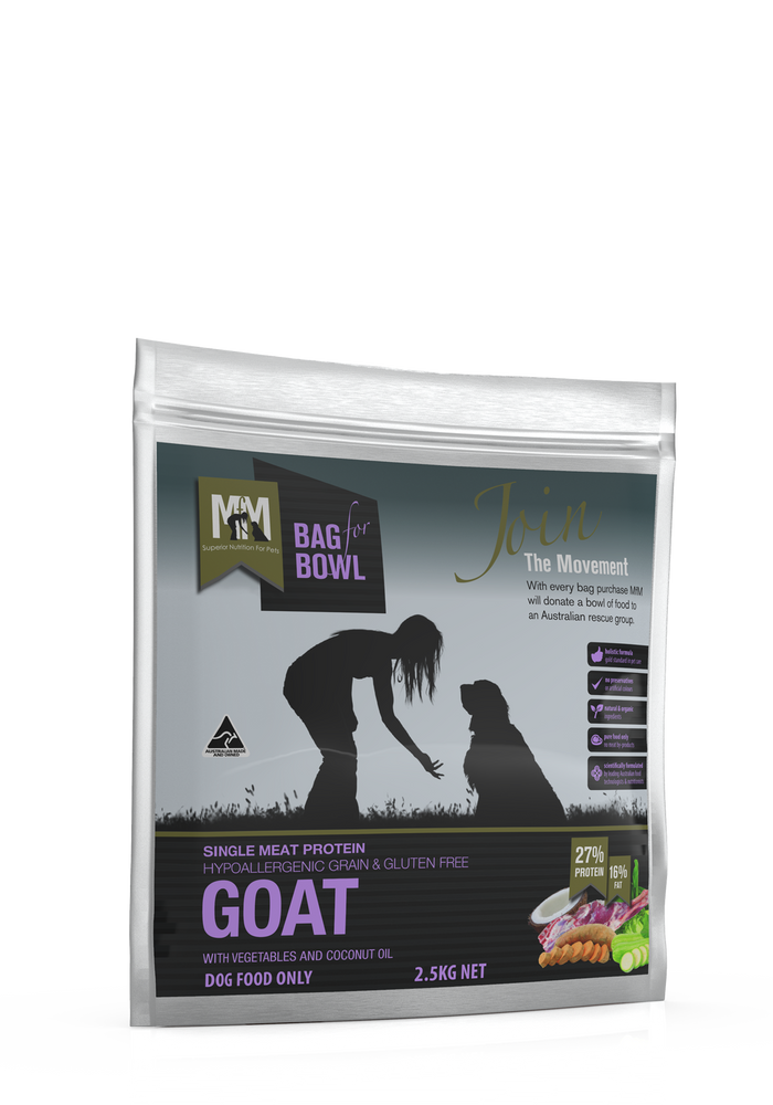 Meals For Mutts Grain Free Goat