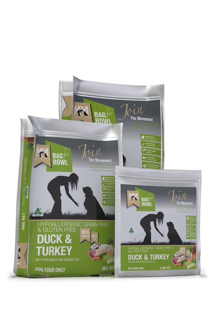 MEALS FOR MUTTS DUCK & TURKEY
