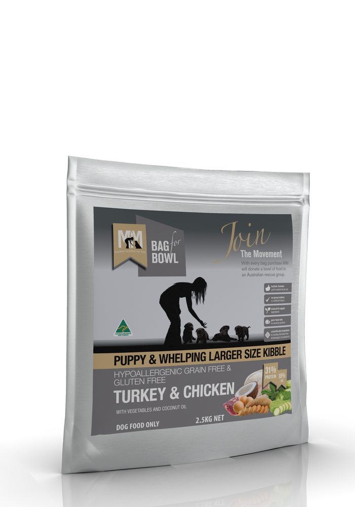 Meals For Mutts Grain Free Turkey & Chicken - Puppy