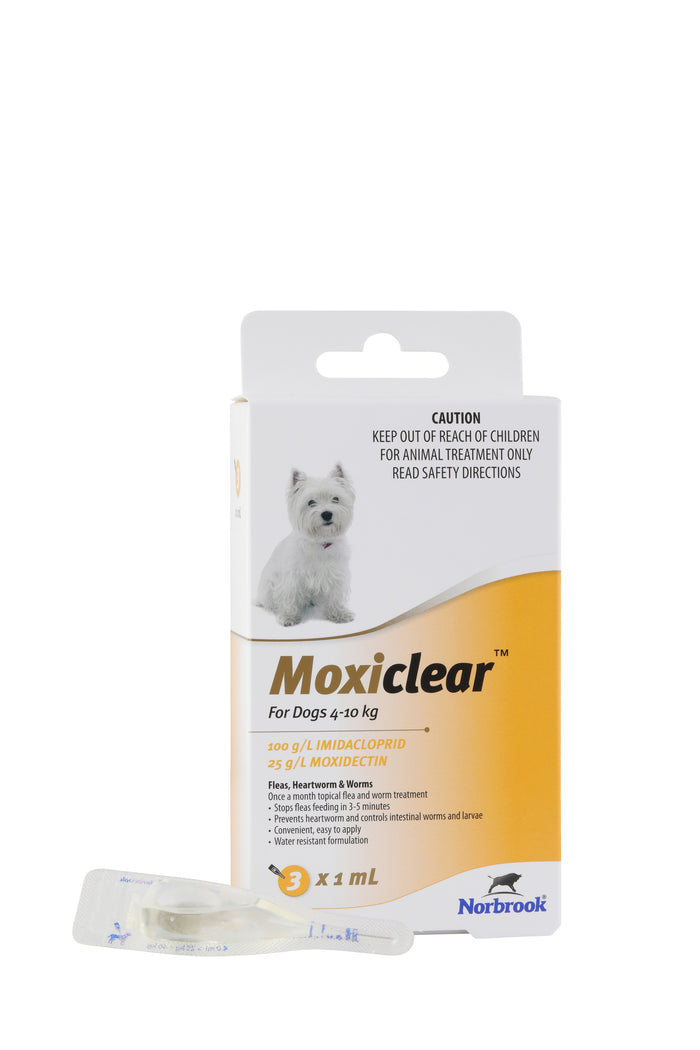 Moxiclear For Dogs 4-10Kg