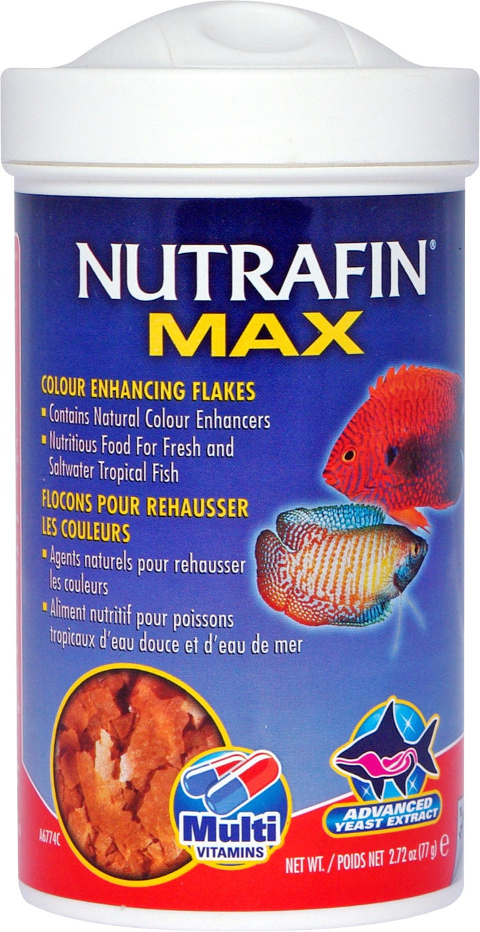 Nutrafin Max Tropical Colour Enhanciing Flakes