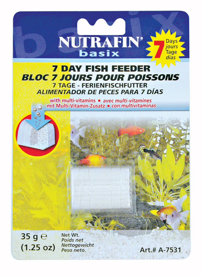 Nutrafin 7-Day Fish Feeder - 35 g