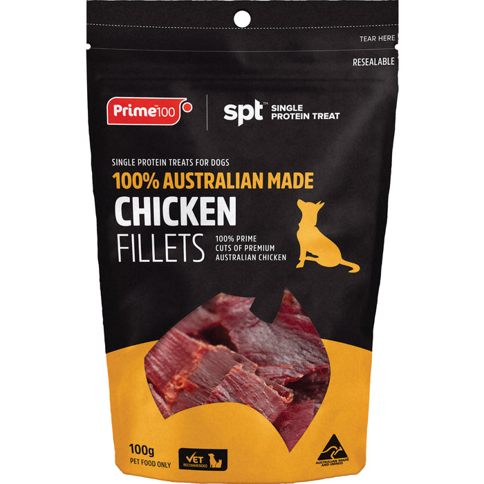 Prime100 SPT Chicken Fillets 100g