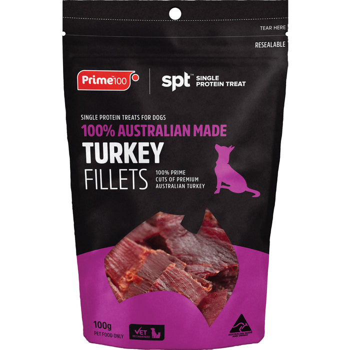 Prime100 SPT Turkey Fillets 100g