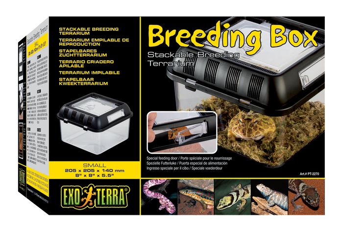 Exo Terra Breeding Box Small 20Xx20x14CM