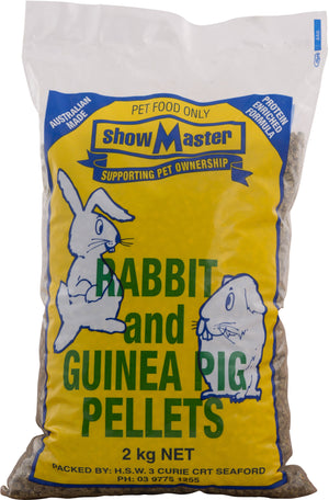 Showmaster Rabbit and Guinea Pig Pellets