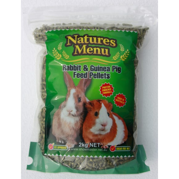 Natures Menu Rabbit & Guinea Pig Pellets 2kg