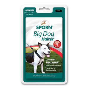 SPORN Big Dog Halter Black | Medium