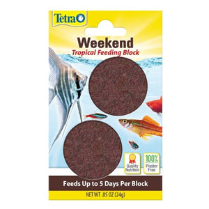 Tetra Tropical Holiday Gel Feeding Block - 5 Days x 2 / 24g
