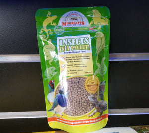 Minibeasts Insects In A Pellet! Bearded Dragon Food 125g