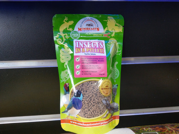 Minibeasts Insects In A Pellet! Turtle Sticks 125g