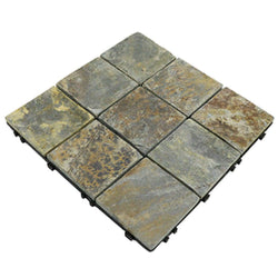 Monet Mosaic Natural Granite Stone Decking Tile