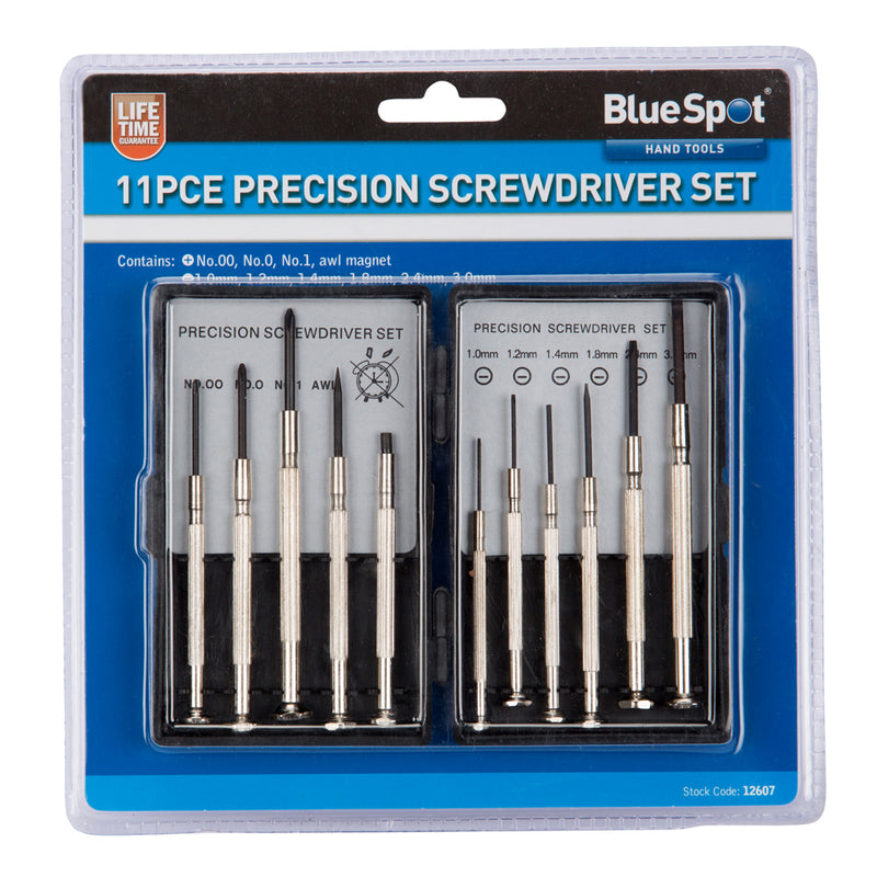 Precision Screwdriver Set -11 piece