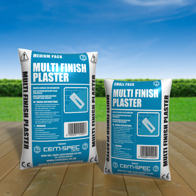 Multi-Finish Plaster Mix - 5 & 10 kg