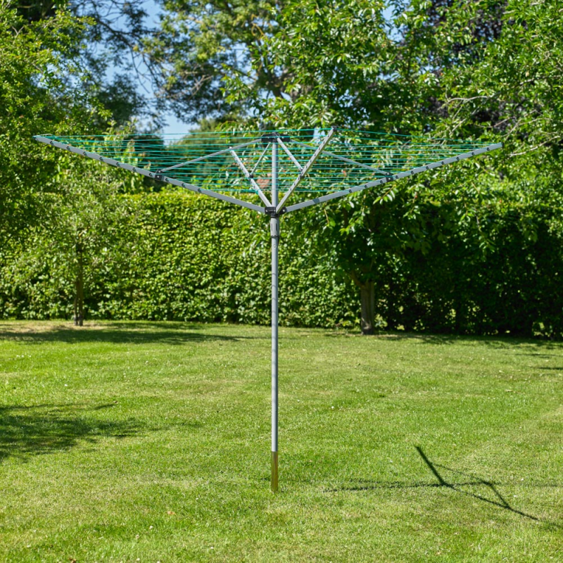 Kingfisher - Outdoor Rotary Washing Line - 3 & 4 Arm (LOCAL PICKUP/DELIVERY ONLY)