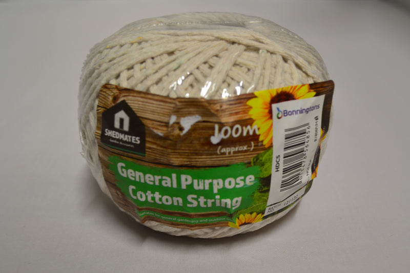 Kingfisher - General Purpose Cotton String - 100 Metre