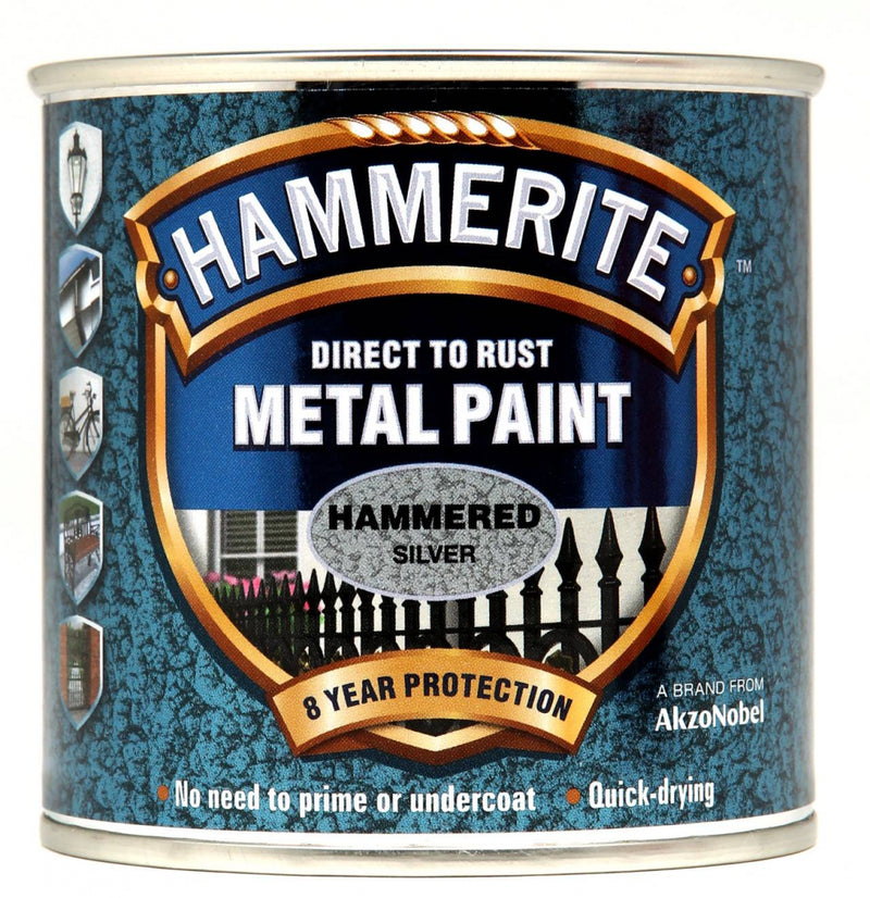 Hammerite - Hammered Silver - 750 ml