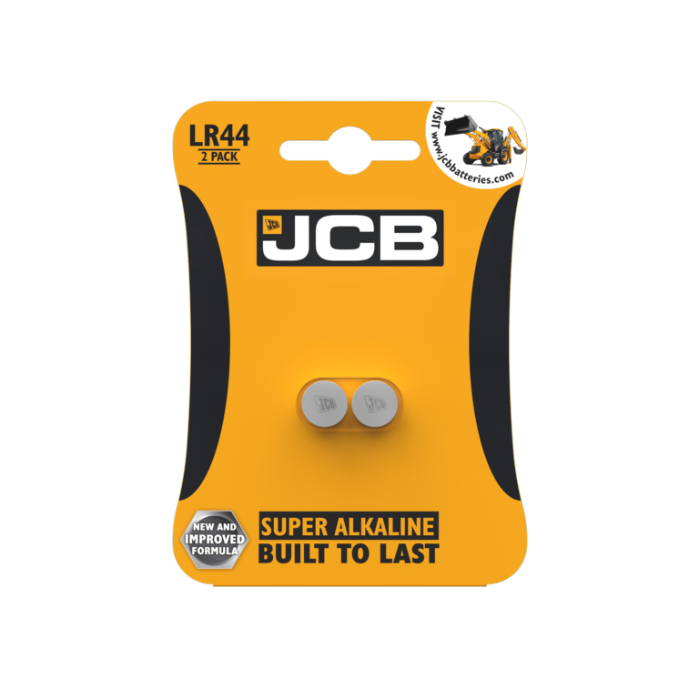 JCB - LR44 Button / Cell Battery- 2 Pack