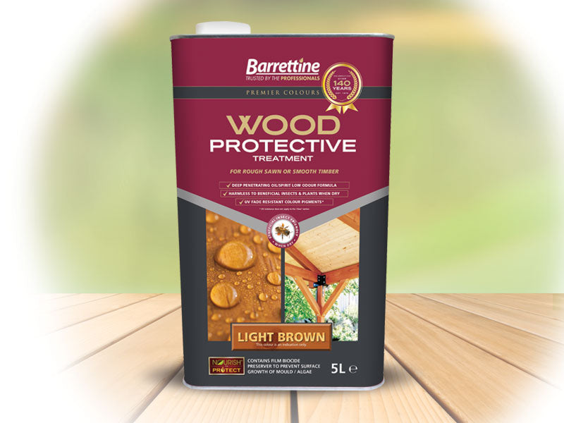 Barrettine - Wood Protective Treatment 1 litre, 2.5 litre & 5 litres