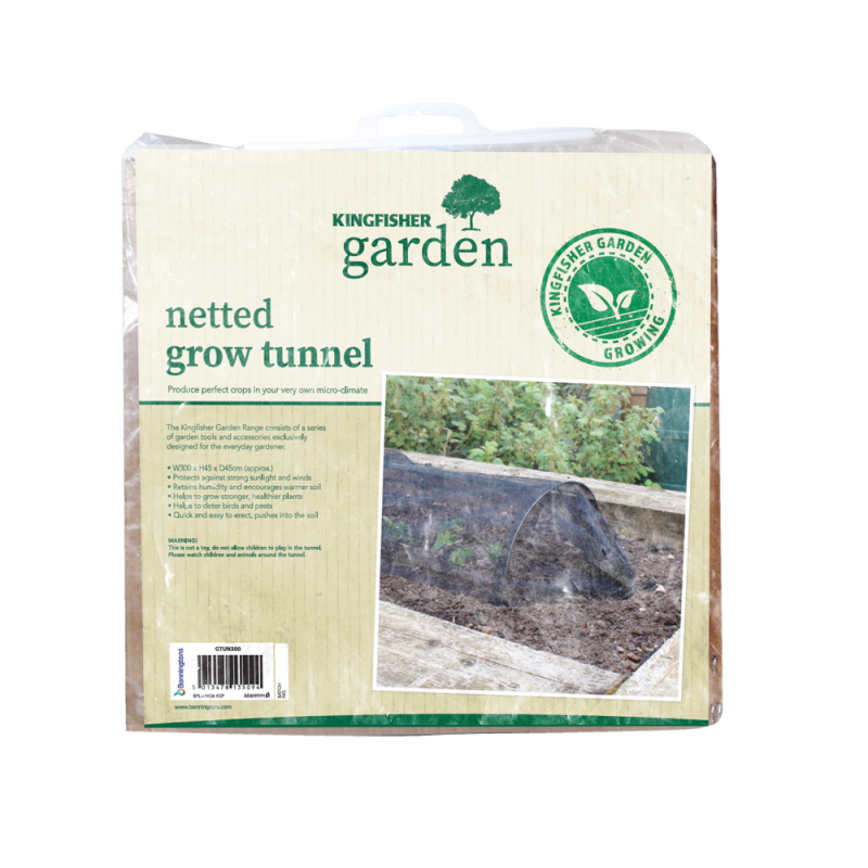 Kingfisher - Netted Grow Tunnel