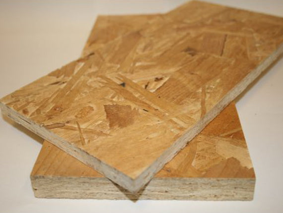 OSB/ Waterproof Chipboard Sheet Material -8' x 4' (2.4 m x 1.2 m) - (LOCAL PICKUP / DELIVERY ONLY)