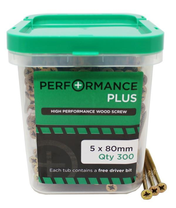 Performance Plus - High Performance Wood Screw