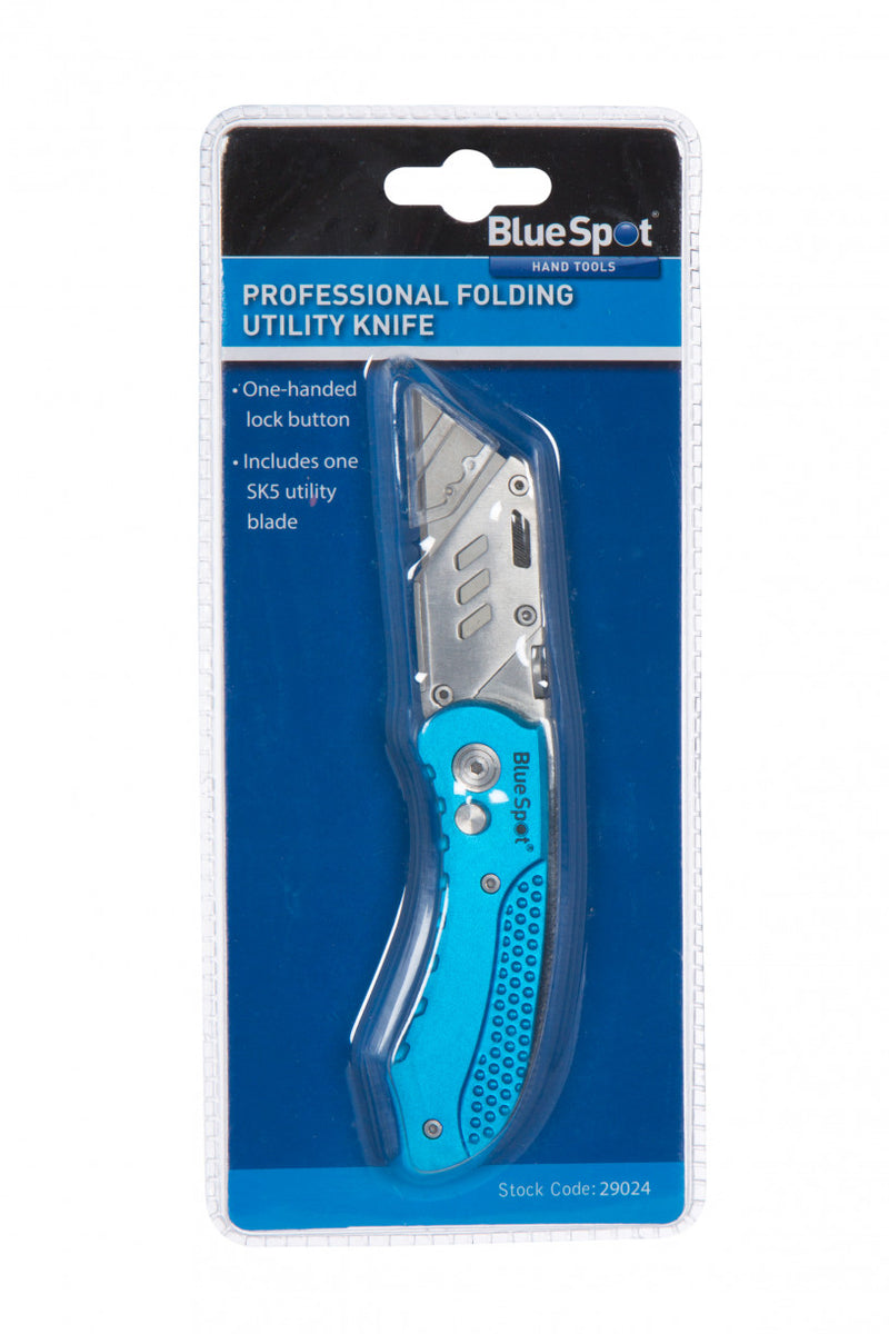 BlueSpot - Professional Folding Utility Knife (LOCAL PICKUP/DELIVERY ONLY)