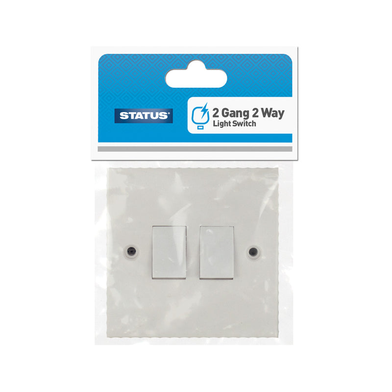 2 Way Light Switches - 1 Gang, 2 Gang, 3 Gang & 4 Gang