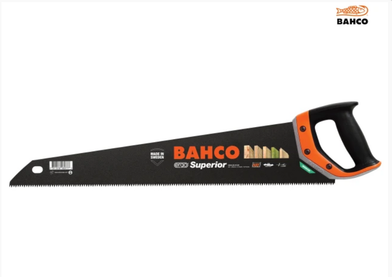 "Bahco 2600-22-XT-HP Superior Handsaw 550mm (22"")"