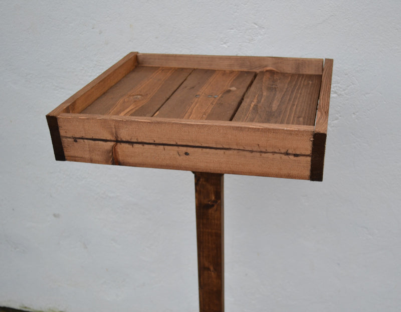 Large Handmade Wooden Bird Feeding Table (LOCAL PICKUP / DELIVERY ONLY)