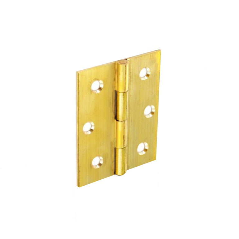 Brass Butt Hinges - 25 mm, 38 mm, 50 mm, 63 mm & 75 mm