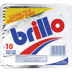 Johnson Brillo - 10 Multi-use Soap Pads