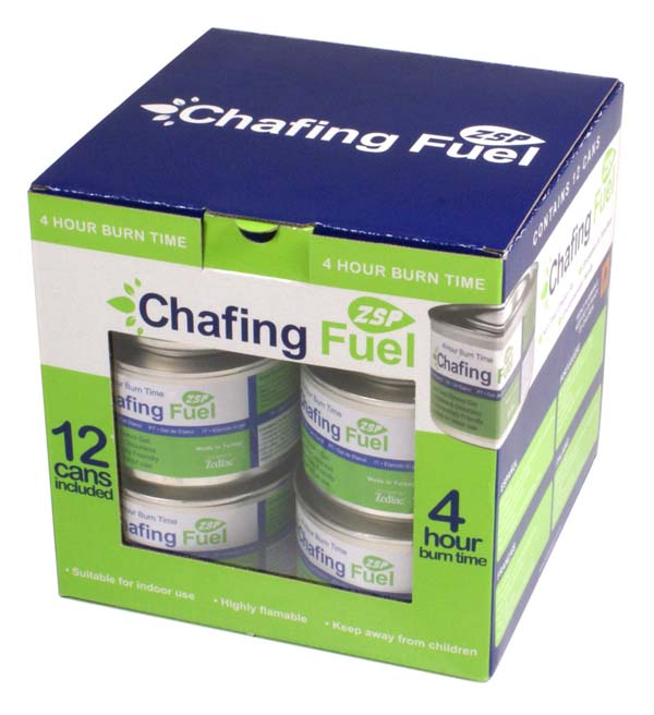 Zodiac Chafing Gel Ethanol Fuel - 200 g (LOCAL PICKUP / DELIVERY ONLY)
