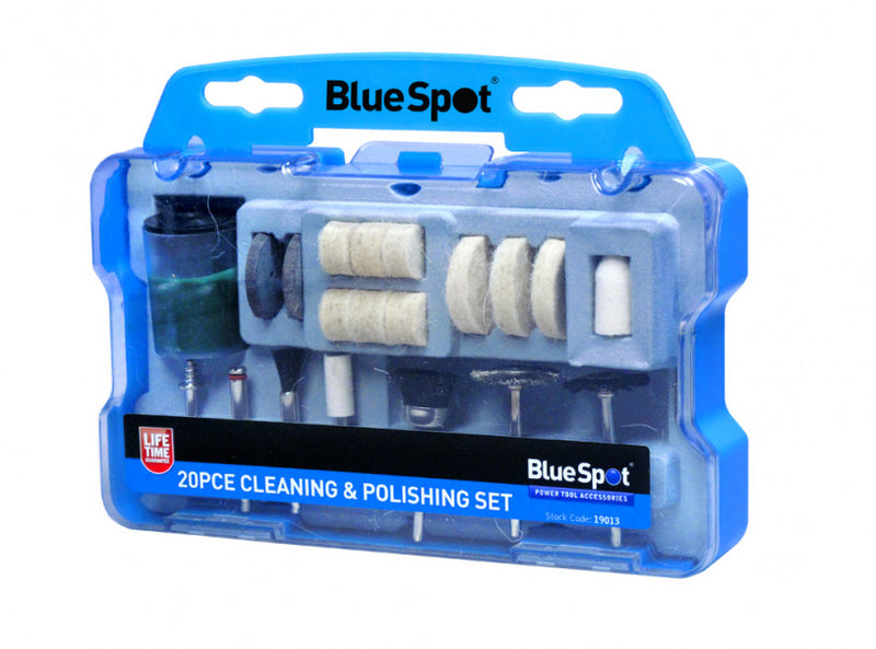 Rotary Tool Cleaning and Polishing Accessory Set - 20 piece